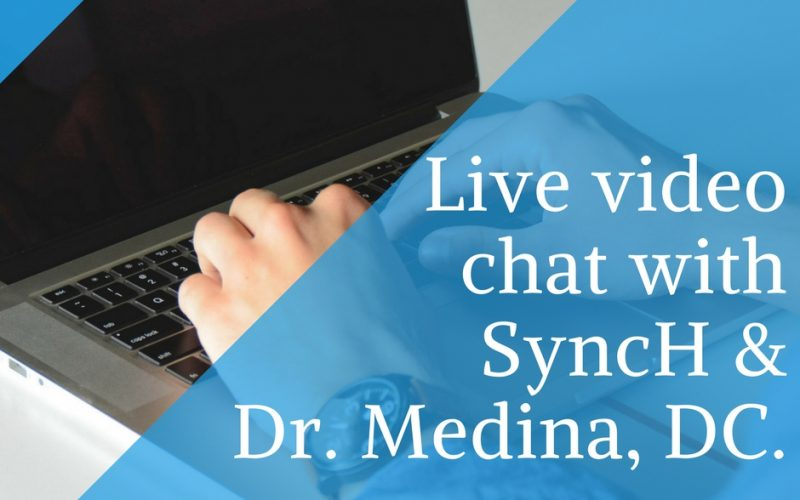Live video chat with Dr. Medina, DC. on Thyroid Dysfunction